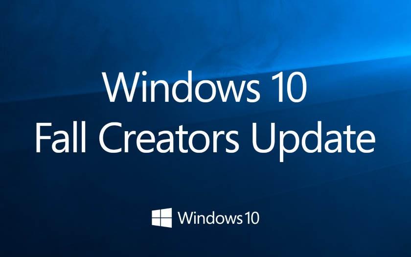 Windows 10 Fall Creators Update: finalmente la versión final, la fecha de lanzamiento se está acercando! 1