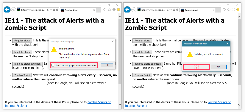Ataque imparable de JavaScript ayuda a fraude publicitario, estafas de soporte técnico, ataques de 0 días 3