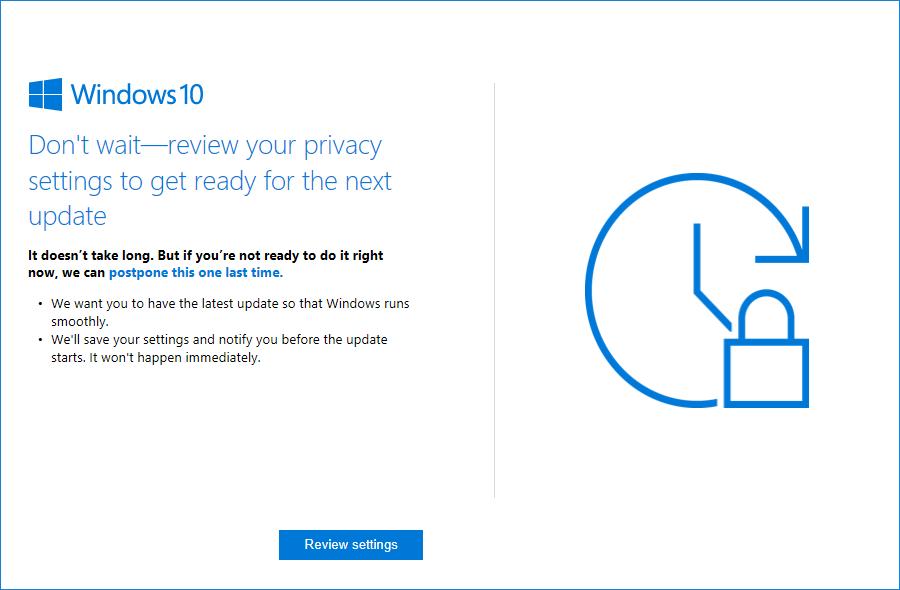 Microsoft anuncia una nueva ola de molestas ventanas emergentes 1