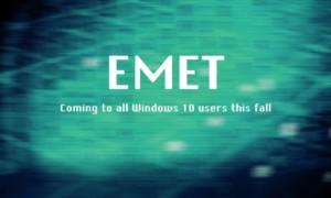 Microsoft incrustará EMET en Windows 10 a partir de este otoño