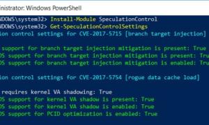 Cómo revisar y actualizar los sistemas Windows para detectar fallas en la CPU de fusión y de fantasmas