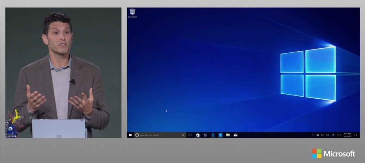 "Microsoft confirma Windows 10 ""Modo S""."