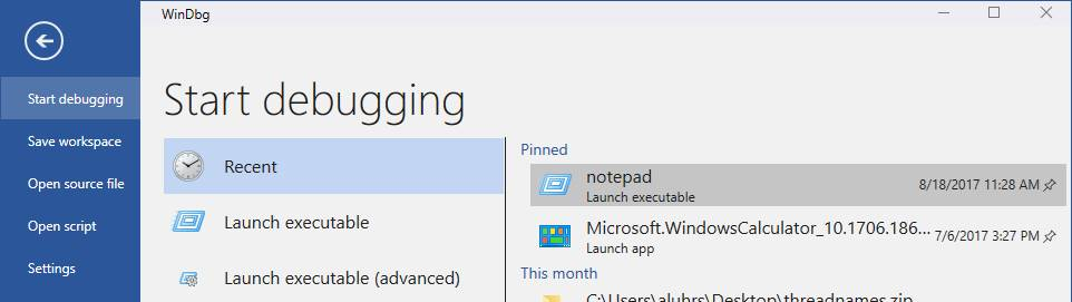 La herramienta de depuración de Windows WinDbg se beneficia de un importante cambio de imagen 1
