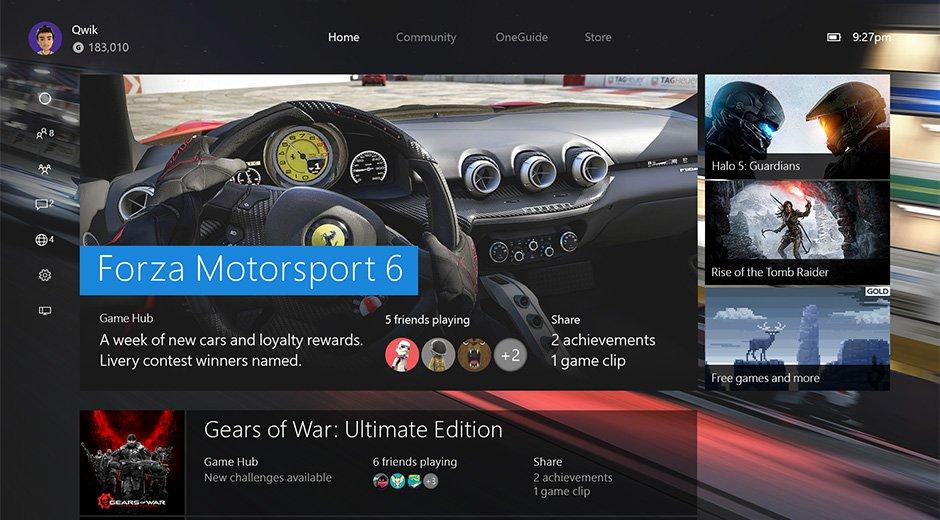 La nueva experiencia de instalación de Xbox One en todo el mundo hoy 1