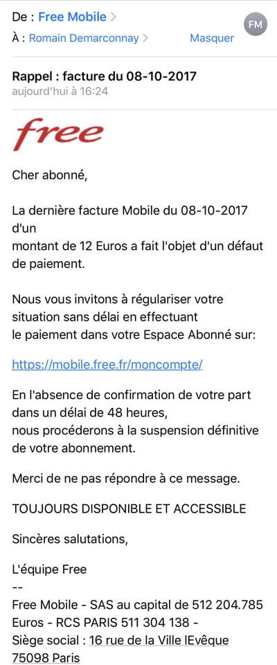 Free Mobile: nuevo ataque de phishing casi perfecto, ¿cómo protegerse? 2