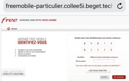 Free Mobile: nuevo ataque de phishing casi perfecto, ¿cómo protegerse?