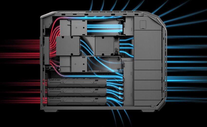 HP Z8: ¿qué hoja de datos en un PC de alta potencia a 40.000 euros?