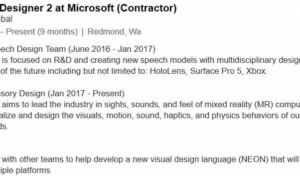 Microsoft: Surface Pro 5 parece haberse filtrado en un perfil de LinkedIn