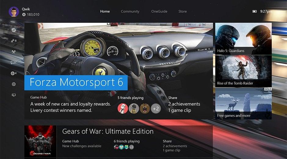 La nueva experiencia de instalación de Xbox One en todo el mundo hoy