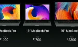 MacBook Pro 2016 oficial: barra táctil, USB-C y rendimiento explosivo!