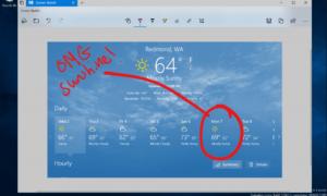 Windows Insider Build 17661 introduce una función moderna de captura de pantalla