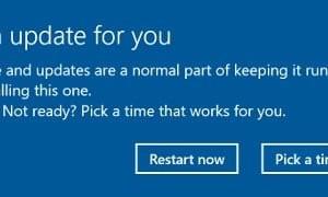 Actualizaciones bajo Windows 10: Microsoft libera lastre al reiniciar automáticamente