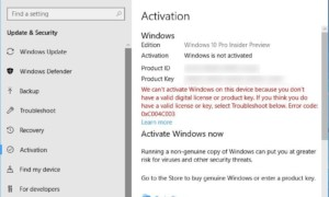 Actualización del registro de cambios de Windows Build 17063 para problemas de audio, activación y OOBE