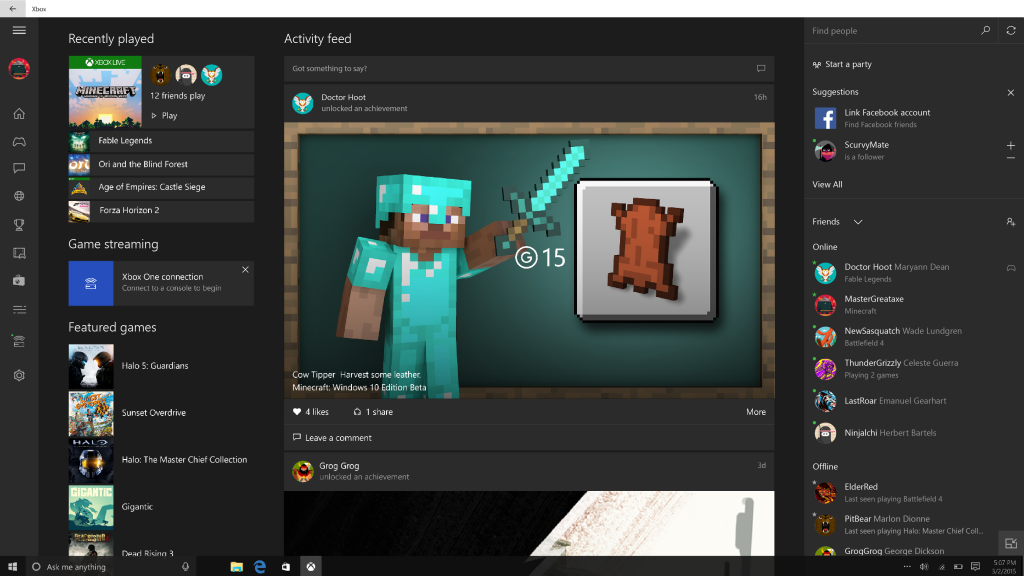 Windows 10 Insider Preview Build 10576 disponible para los Insiders en el Fast Ring
