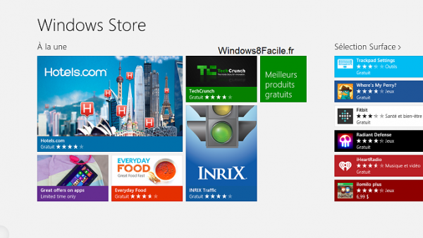 Windows Store: lista de todas las aplicaciones 2
