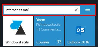 Windows 10: organizar el menú Inicio 3