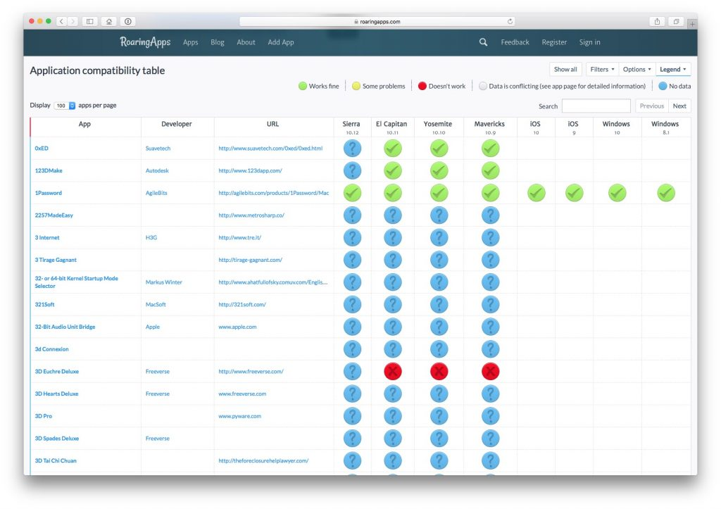 MacOS Sierra (10.12): aplicaciones compatibles 1