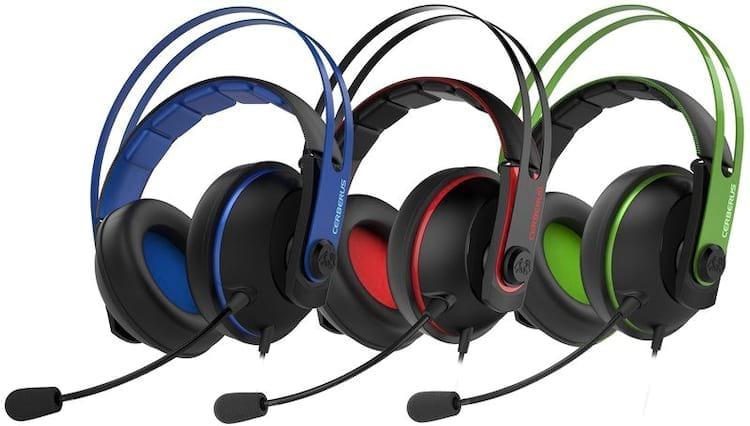 ASUS invierte en la línea de juegos de Cerberus creando unos nuevos auriculares y un nuevo teclado mecánico: Compruébelo. 1