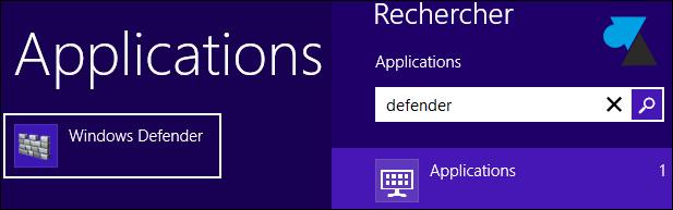 Habilitar y deshabilitar el antivirus integrado en Windows 8 2