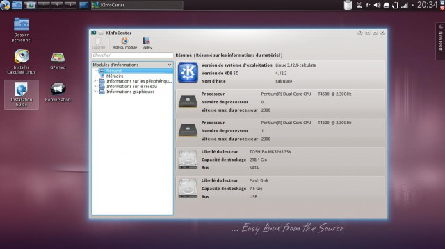 Una actualización de Calcular Linux 13.11.1 4