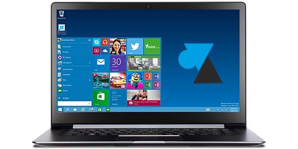 Windows 10: añadir accesos directos en el menú Inicio 1