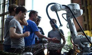Impresora 3D: un impresionante puente de acero hecho por robots