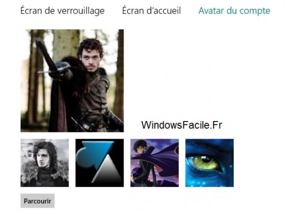 Cambiar el avatar de la cuenta de Windows 8 / RT 6