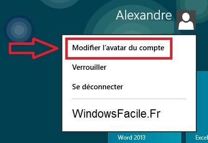 Cambiar el avatar de la cuenta de Windows 8 / RT 3