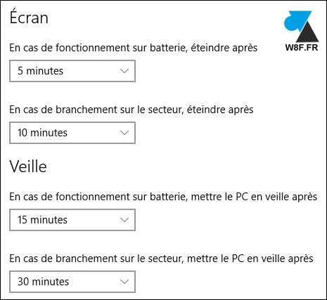 Windows 10: configurar la pantalla y el modo de suspensión del PC 6