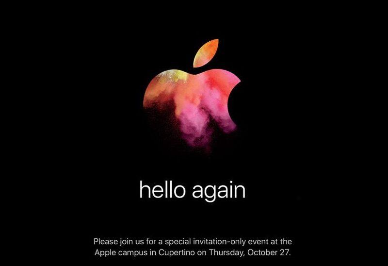 MacBook Pro 2016: Apple invita a los periodistas a una conferencia magistral el 27 de octubre 1