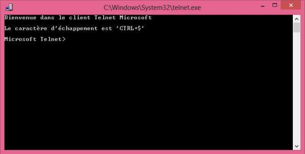 Instalar el cliente Telnet en Windows 8 y 8.1 1