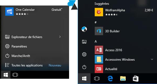 Windows 10: Desactivar la publicidad en el menú Inicio 2