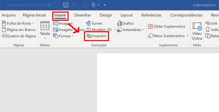 Cómo crear un organigrama en Word (Smart Art)