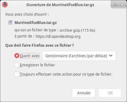 Cambiar el tema y los iconos en Xubuntu 15