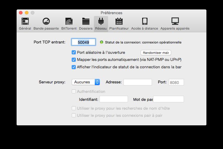 Configuración de uTorrent Yosemite en 7 pasos (Mac OS X 10.10) 9