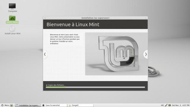 Linux Mint Mate, instalación en imágenes en un disco duro vacío 9