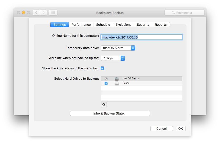 Guarda tu Mac en la nube sin límites! (o su PC) 4