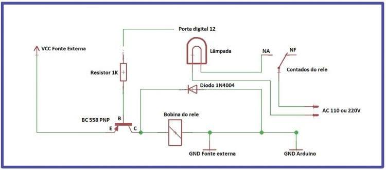 Arduino Uno - Clase 11 - Disparando una carga con el uso de un relé - parte 2 16