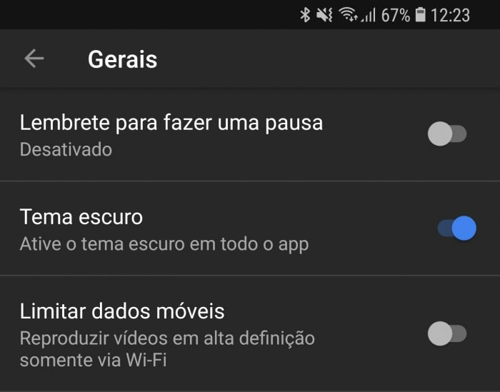YouTube publica un tema oscuro en Android para más usuarios 2