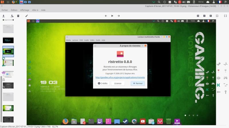 Voyager Linux 16.04.2 LTS basado en el escritorio XFCE de Xubuntu 12