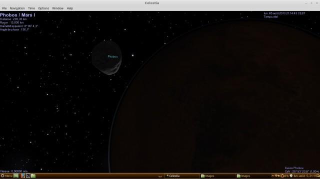 Celestia, mira los planetas un poco más de cerca. 5