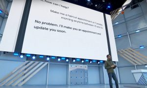 Google Assistant imitará a un humano en el teléfono para marcar sus citas.