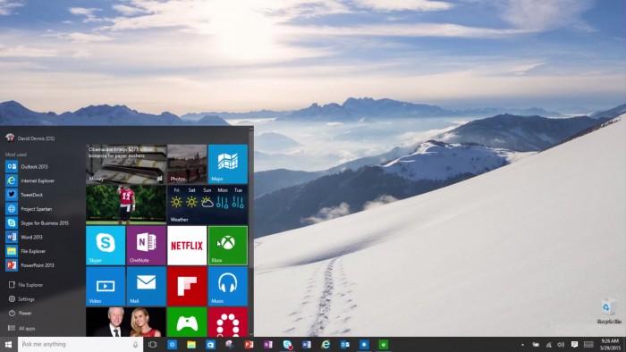 Windows 10 saldrá a la venta el 29 de julio 1