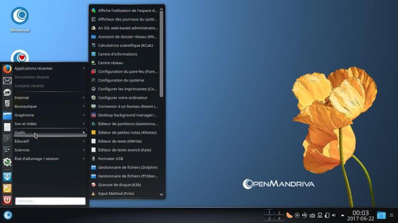 Prueba de OpenMandriva Lx 3.02 con el entorno de escritorio Plasma 5.9.5 15