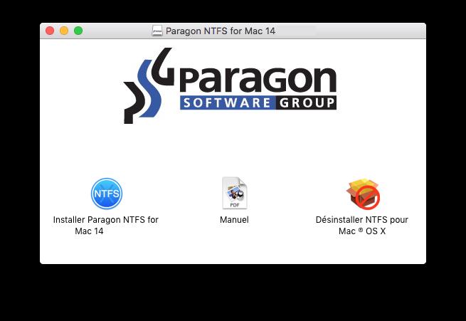 NTFS Mac OS X X X El Capitan: escribir en un volumen de Windows 2