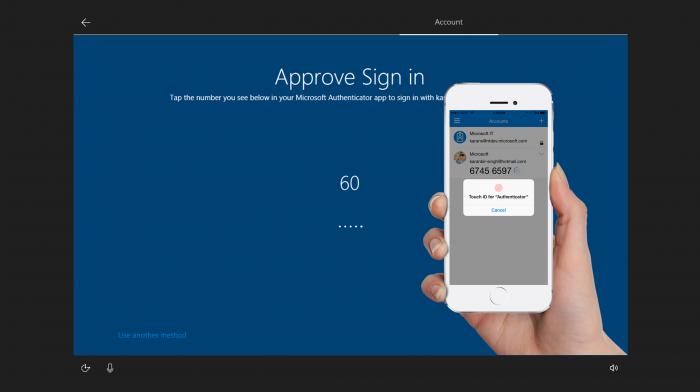 Microsoft prueba los PCs desbloqueados con lector digital en el smartphone