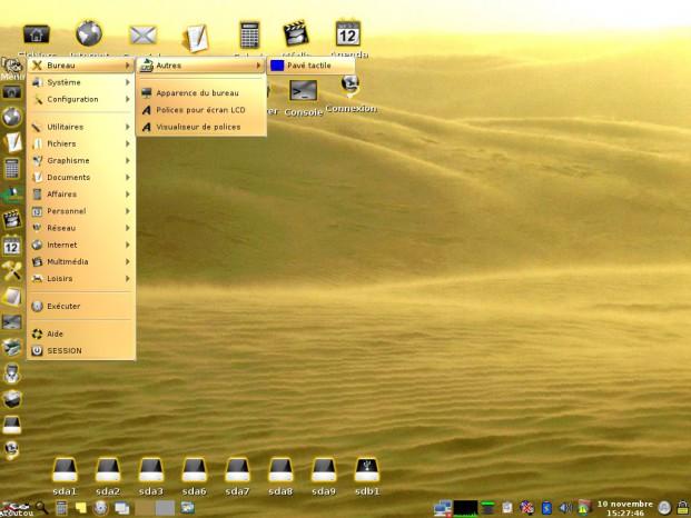 Distribuciones de Linux a granel 13