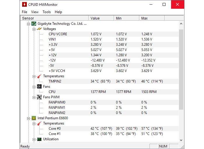 Cómo ver la temperatura de la PC y evitar el sobrecalentamiento 2