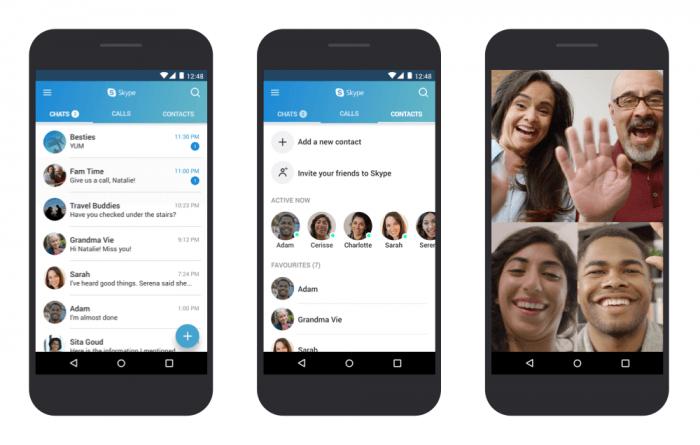 Skype lanza una aplicación optimizada para versiones anteriores de Android