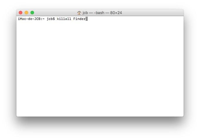 Mostrar archivos ocultos macOS Sierra (10.12) 2